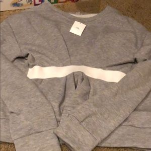 NWT OUT FROM UNDER SWEATER SIZE M GREY